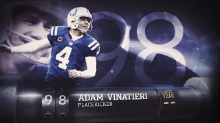 #98 Adam Vinatieri (K, Colts) | Top 100 Players of 2015