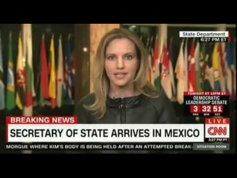 US Secretary of State arrives in Mexico as relations between the two nations are in need of repair