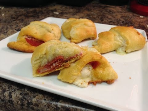 How To Make Croissant Pizza Rolls by Average Kitchen