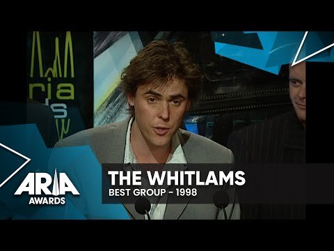 The Whitlams Win Best Group | 1998 ARIA Awards