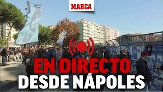 Muere Maradona: Nápoles lamente su muerte I DIRECTO MARCA