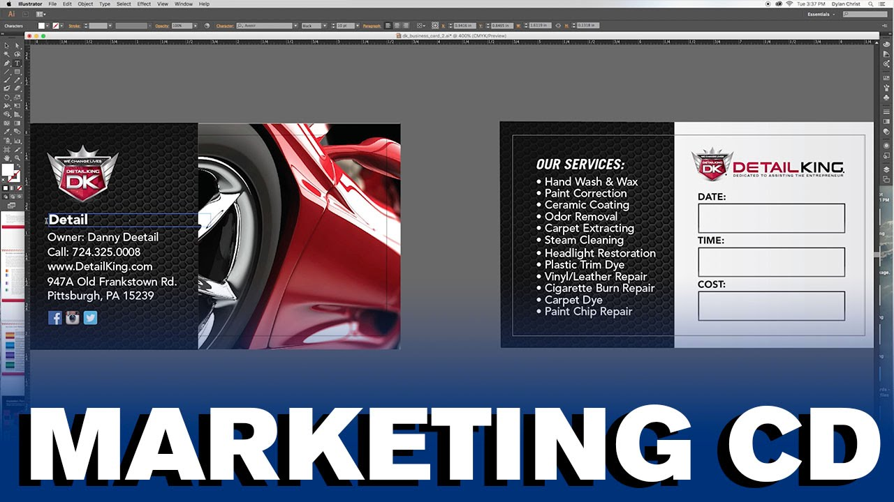 Car Detailing Cost >> Auto Detailing Marketing Cd Youtube