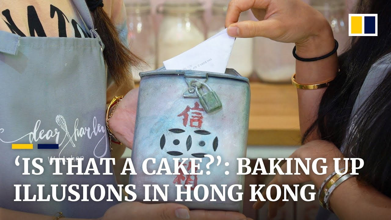 'Is that a cake?': Hong Kong bakers cook up some eye-popping illusions