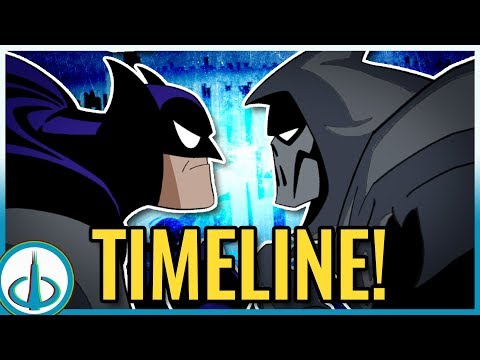 BATMAN: MASK OF THE PHANTASM Timeline! | History of the DCAU