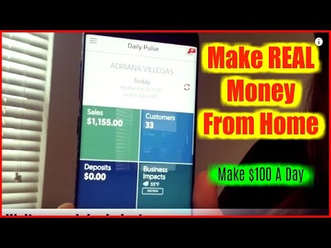 "Easiest Way To Make Money Online - ""How To Make Money From Home""  Make $100 A Day"