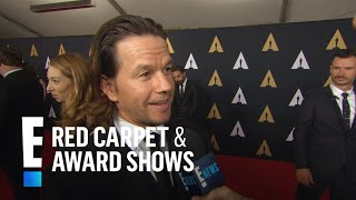 Mark Wahlberg Really Hates Having Long Hair | E! Live from the Red Carpet
