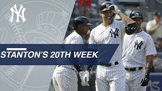 Best of Giancarlo Stanton's 20th week of 2018