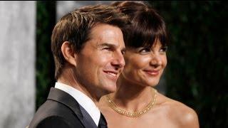 طلاق الممثل طوم كروز من زوجته كاتي هولمز