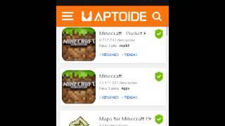 Como Descargar Minecraft PE 0.13.0 | Aptoide