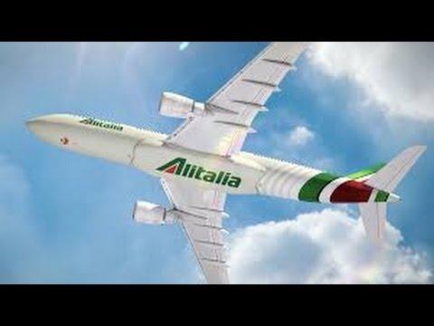 Alitalia a330-200 Toronto to Rome - Economy full flight report June 22nd 2016