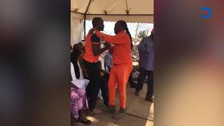 dj-kriss-darlin-kneels-before-raila-begs-for-odm-ticket-in-kibra-by-election-race