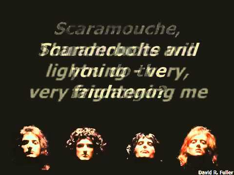 Queen   Bohemian Rhapsody Karaoke Real Queen Music