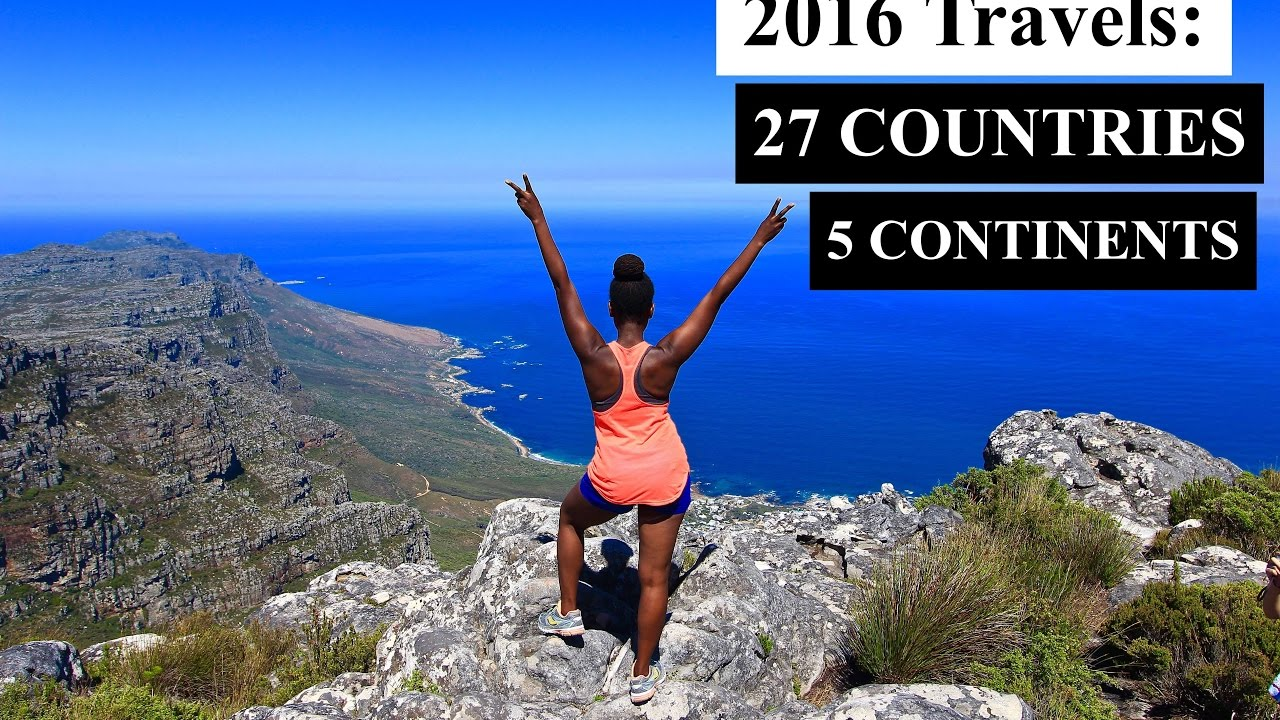 EPIC 2016 Travels through 27 countries and 5 continents | TRAVEL MONTAGE