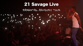 21 savage performs live in houston tx   parental advisory tour   shot by thenewedition