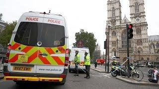 Terror probe after car crash at British Parliament