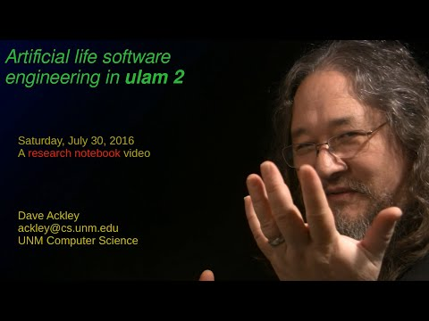 Artificial life software engineering in ulam 2