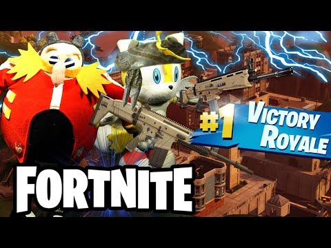 ABM: STEADY STORM !! Tails & Dr.Eggman Survive!?!  Fortnite Match!! HD