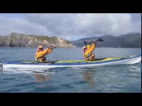 Kayaking Cook Strait December 2013