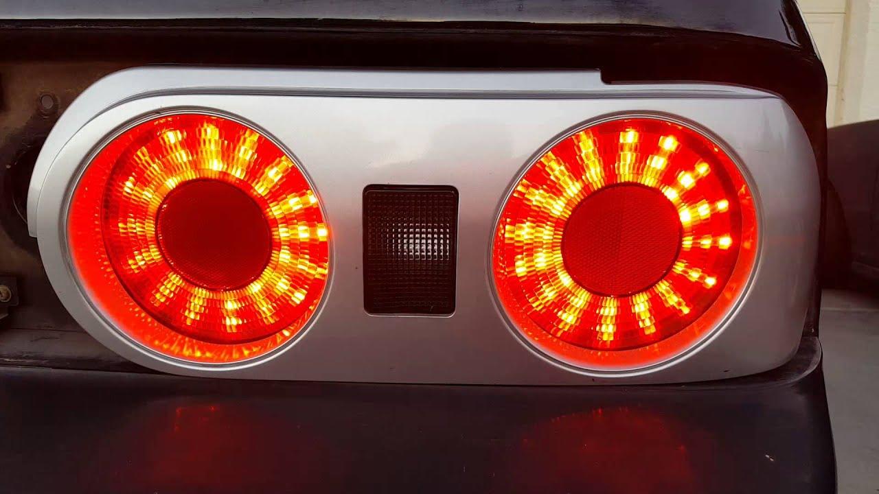 R32 Skyline Led Tail Light Conversion Youtube