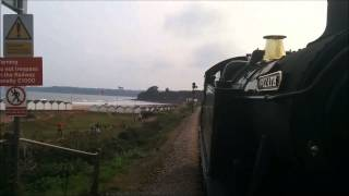 Paignton & Dartmouth Steam Railway with 5239 Goliath