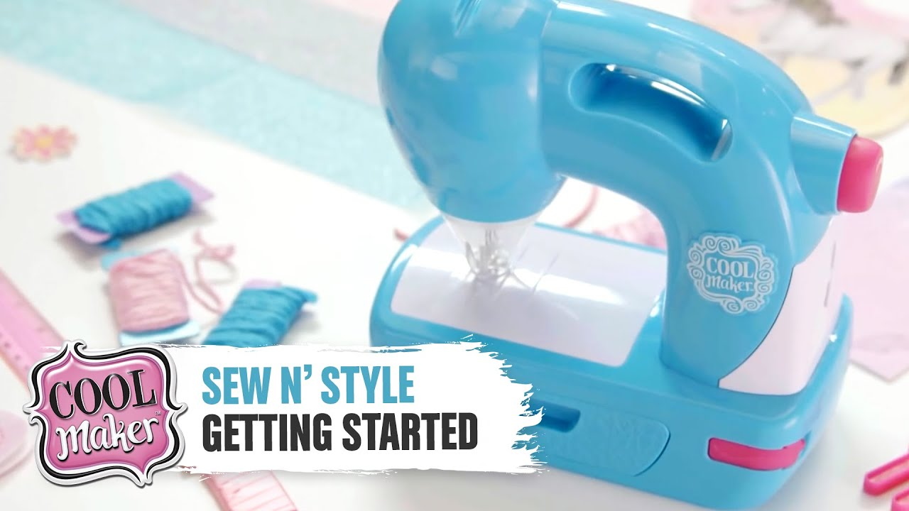Cool Maker Sewn Style Machine Getting Started Youtube