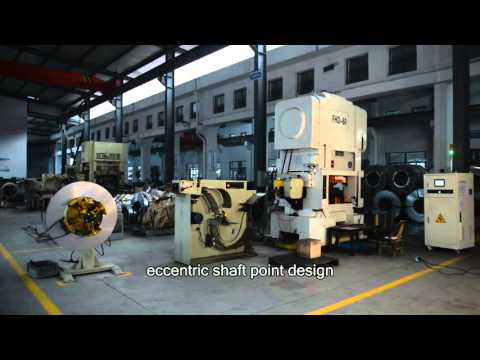Fuchuan machinery introduction stamping presses machine powerful manufacturer