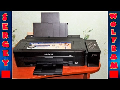 Видео Ремонт принтера эпсон