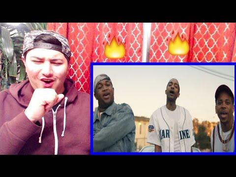 DJ Mustard - Ridin' Around ft. Nipsey Hussle, RJ (REACTION!)