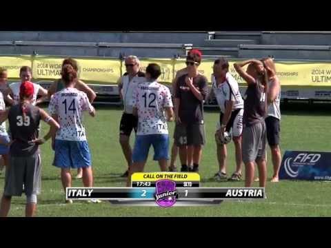 WJUC 2014 | Italy vs Austria (Women's)