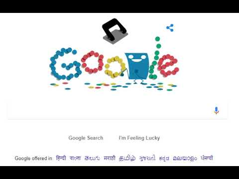 Hole Punch history  - 131st anniversary celebrated with a Google Doodle