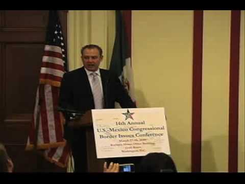 Border Issues Conference - Ambassador Sarukhan (Part 1 of 3)