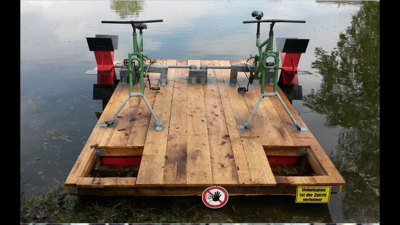 Altes Holz Kanu How To Tretboot Selber Bauen Neue Version Doovi