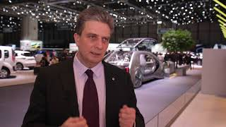 Stoisko Renault - Genewa Motor Show 2018
