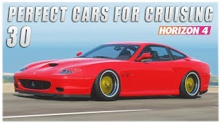 Forza Horizon 4 | 30 Perfect Cars for Cruising (Best Sounding Cars)