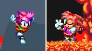 Sonic Mania: Amy Rose in Sonic Gaiden