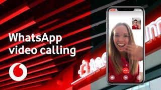 WhatsApp | How to make a video call | iOS iPhone | TechTeam | Vodafone UK