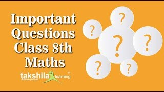 Class 8 Maths | Important  Questions | CBSE | ICSE | NCERT Solutions | Syllabus