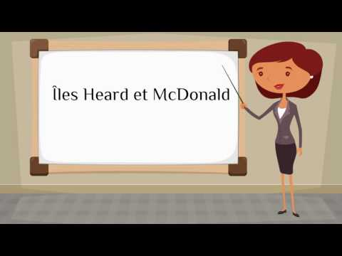 How do you say 'Heard Island and McDonald Islands' in French?
