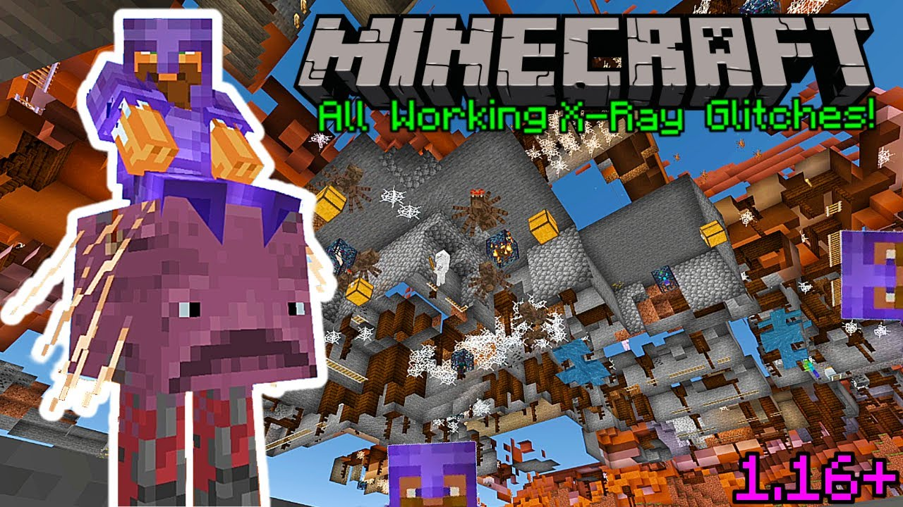 Minecraft 11.111+ ALL WORKING X-RAY GLITCHES 11 TUTORIAL!  XBOX,PE,WINDOWS111,SWITCH,PS11