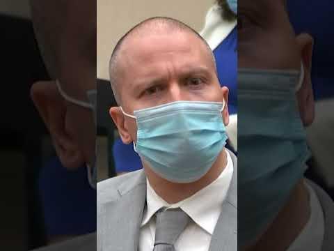 WATCH: Judge sentences Derek Chauvin to 22.5 years for George Floyd's murder #shorts