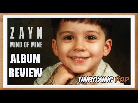 Album Review: ZAYN - Mind Of Mine (Faixa A Faixa)