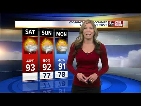 Florida's Most Accurate Forecast with Shay Ryan on Saturday, September 22, 2018