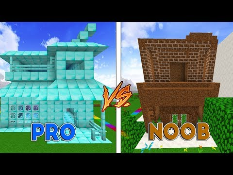 Minecraft: CASA DE DIAMANTE VS CASA DE TERRA! ft. Juw (Coelha)