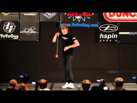 Jensen Kimmitt Champion du Monde de YoYo 2010 (HD)