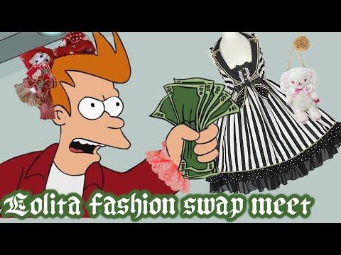 💸 Lolita Swap Meet - Haul and Tips!