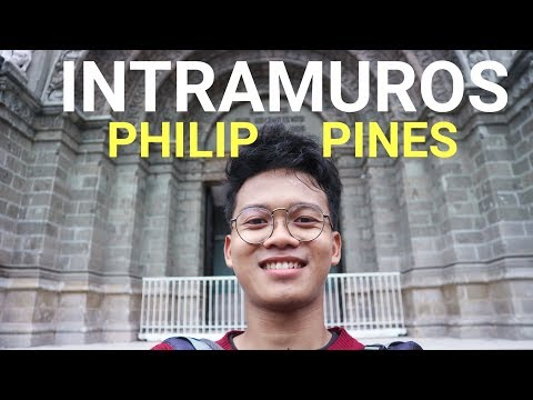 SOLO TRAVELING TO PHILIPPINES!!! (Amazing Intramuros And Fort Santiago) #Episode3 #TravelVlog