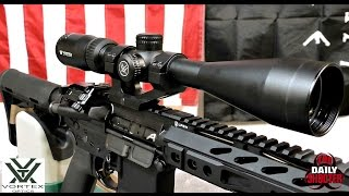 Vortex Crossfire II 4 12x44 & 3 9x40 Rifle Scope with BDC Reticle Review & Shooting
