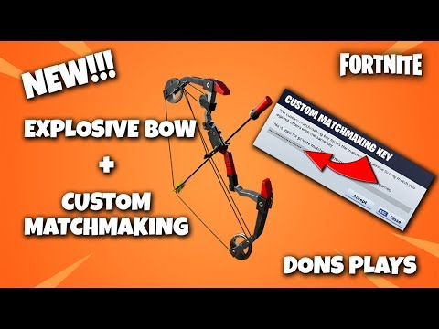 personal matchmaking fortnite