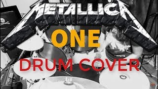 METALLICA   ONE   Drum cover