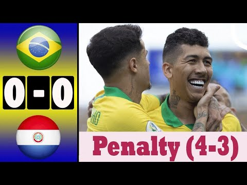 Download Brazil vs Paraguay (pen 4-3) All Goals and Highlights | Copa america 2019 #Brazil_vs_parguay